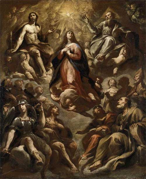 the assumption of the blessed virgin mary the conquest of death