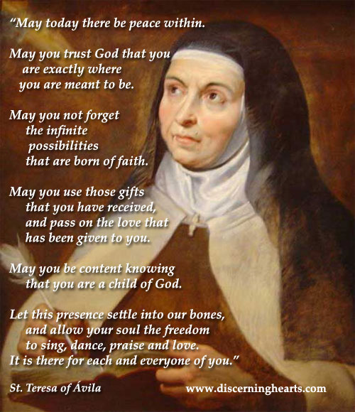 St.-Teresa-of-Avila-Peace