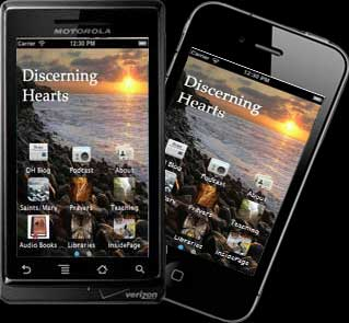 Free Discerning Hearts Apps for Android, iPhone and iPad devices