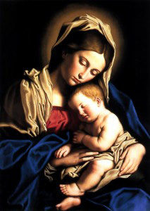 Sassoferrato_Madonna_And_Ch