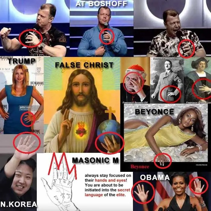 AT-Boshoff – Masonic M Hand Sign