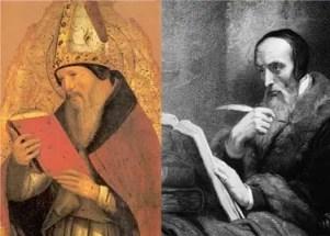 St Augustine and John Calvin - Amillennialism