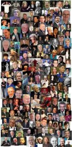 Collage of False prophets and teachers
