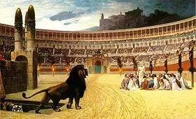 Colosseum The Christian Martyrs Last Prayer