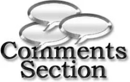 Commetns section
