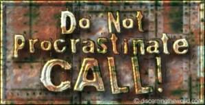 DoNotProcrastinate-Call