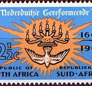 Dutch Reformed church stamp
