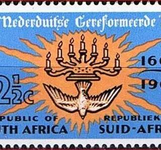 Dutch Reformed church stamp