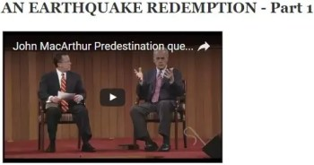 Earthquake redemption - part 1