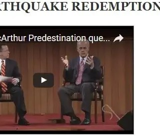 Earthquake redemption – part 1
