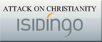 Isidingo - logo- attack on christianity