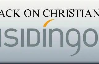Isidingo – logo- attack on christianity