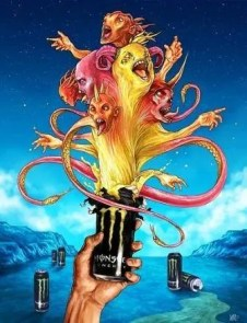 Unleashed Monster Energy Drink