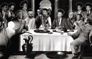 Nelson Mandela - Last Supper