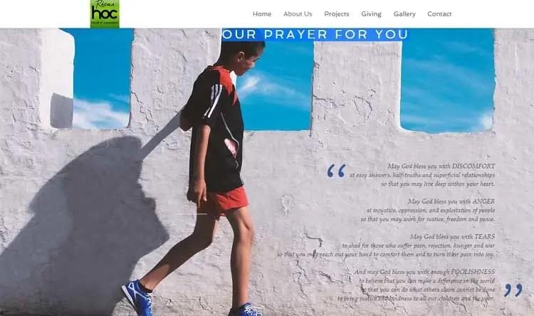 Rhema Bible Church - Hands of Compassion Prayer