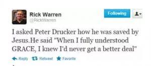 Rick Warren - Global Leadership Summit
