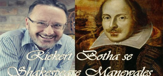 Riekert Botha - Shakespeare-Manewales