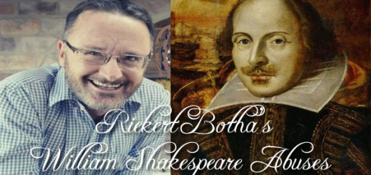 Shakespeare-abuses - Riekert Botha