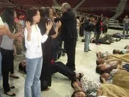 Slain in the Spirit (Kundalini awakening)