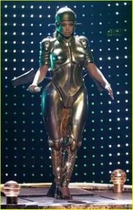 Beyonce's stage performance at BET awards