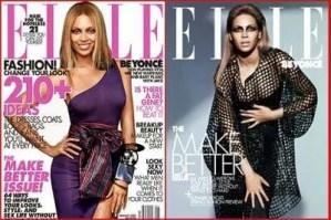 Good Beyonce vs disturbing looking Sasha Fierce