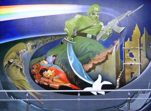 DIA1-3rdMural-MainPicture New World Order Airport