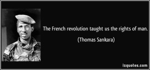 French to African Revolution