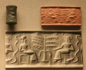 Snake Sumerian Life Tree