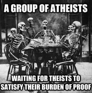 Atheists Proof