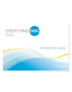 Everything DiSC Sales