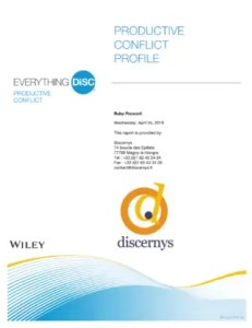 Everything DiSC® Productive Conflict
