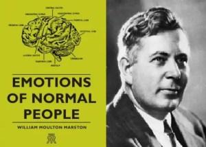 William Marston les émotions des gens normaux