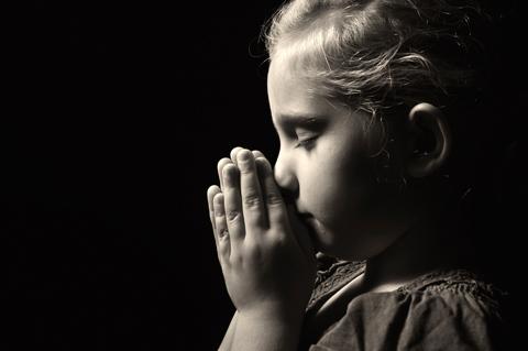 Image result for children prayer silhouette photo