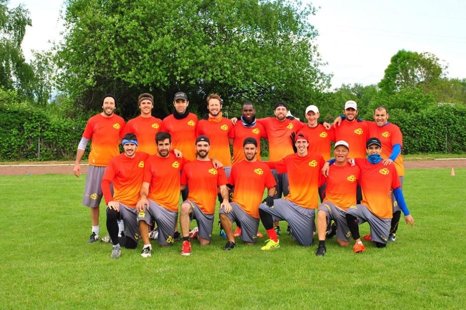 Equipo de la selección española de Ultimate Frisbee