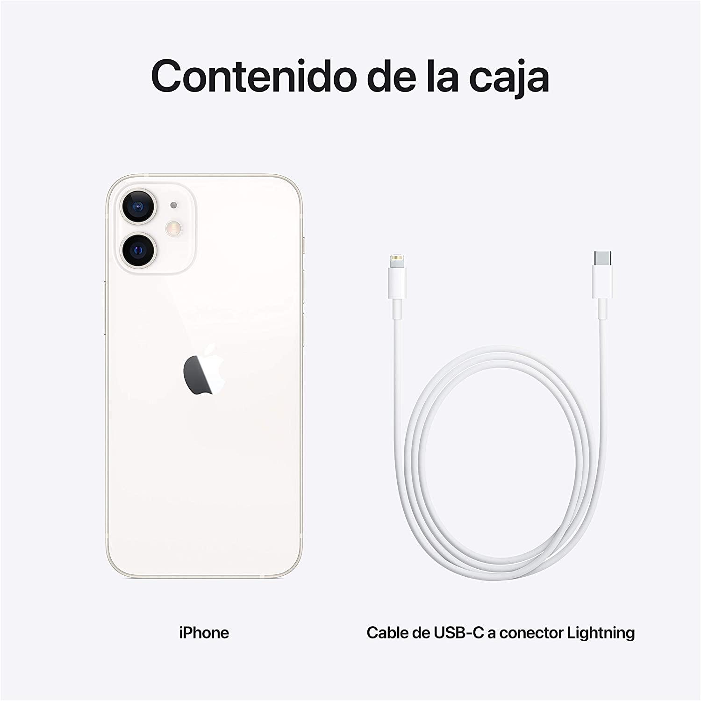 Smartphone Apple Iphone 12 Mini 64gb Branco Mgdy3ql A