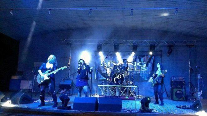 livingdolls01 24.07.2015   Women in Rock festival, concerto Living Dolls a Udine. Parco del Cormor.