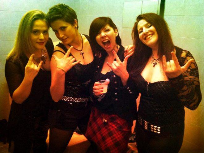 livingdolls02 24.07.2015   Women in Rock festival, concerto Living Dolls a Udine. Parco del Cormor.
