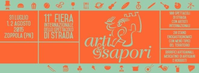 %name Dal 31.07.2015   ARTI E SAPORI, 11° Festival dello spettacolo di strada ZOPPOLA