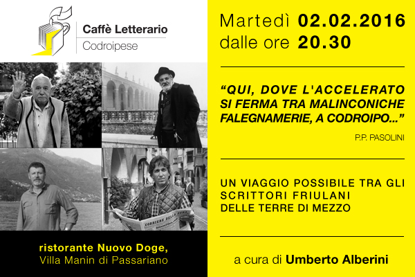 7b9aa152 0450 485f a6fc d413669dab91 02.02.2016   Evento su Pasolini al Doge di Villa Manin