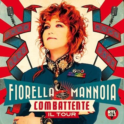 combattente il tour artwork FIORELLA MANNOIA   Nuove date per Combattente il Tour, a Trieste lunico live in Friuli Venezia Giulia