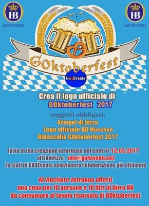 Contest di grafica per il logo ufficiale di GOktoberfest 2017