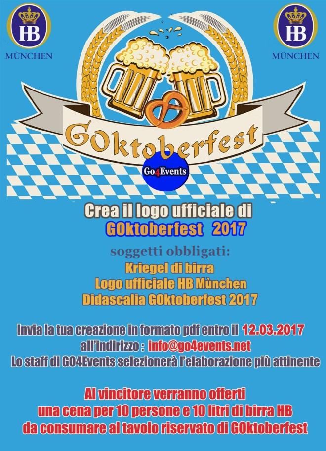 contest logo 2017 Contest di grafica per il logo ufficiale di GOktoberfest 2017