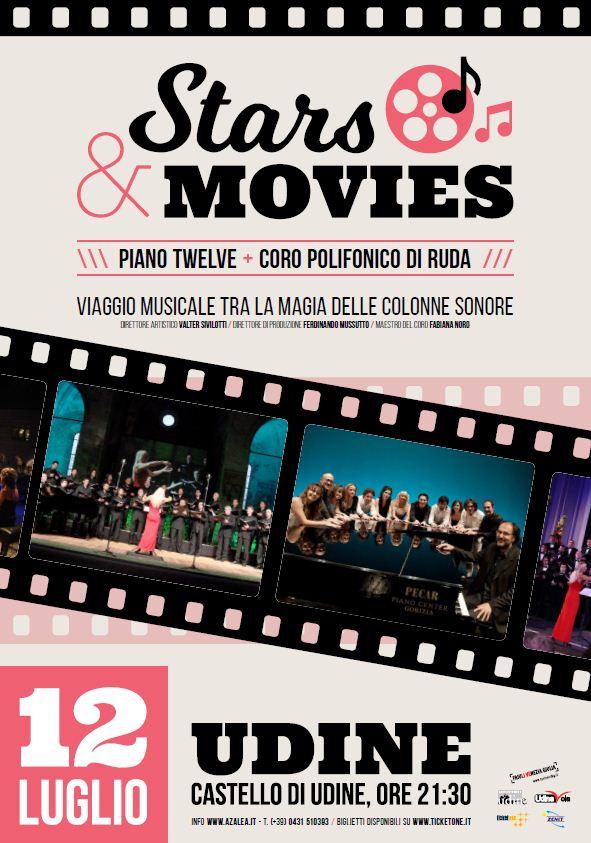 """stars movies STARS & MOVIES """"Viaggio musicale tra la magia delle colonne sonore"""""""