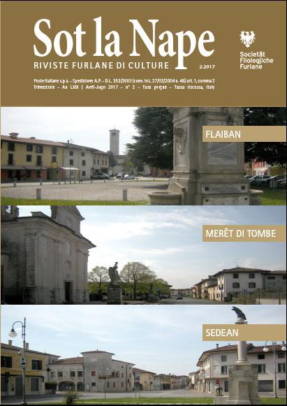 sot la nape copertina Settimana della cultura friulana a Mereto di Tomba
