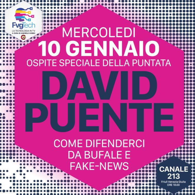 evento friuli 26240375 1937498666510436 120442199302054099 o David Puente ospite di Gabriele Gobbo su FvgTech del 10.01.2018