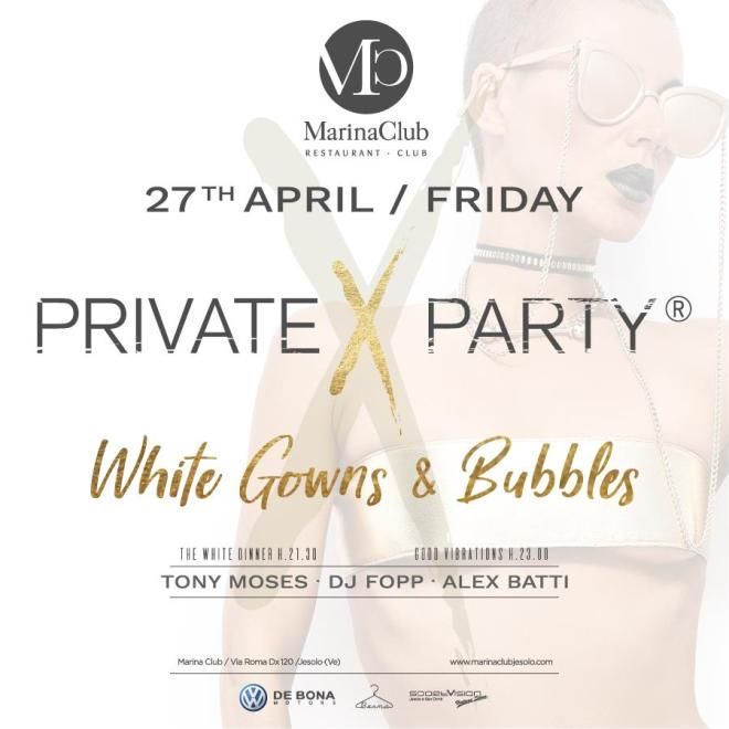 evento friuli marinaclub jesolo private x party white gowns bubbles 27 4 ce5e66c3 0ad5 4c37 8281 75add3e2960f MarinaClub Jesolo   Private X Party White Gowns & Bubbles   27/4