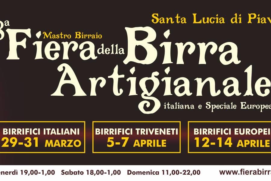Fiera Birra Artigianale – 29 marzo al 15 aprile a Santa Lucia di Piave