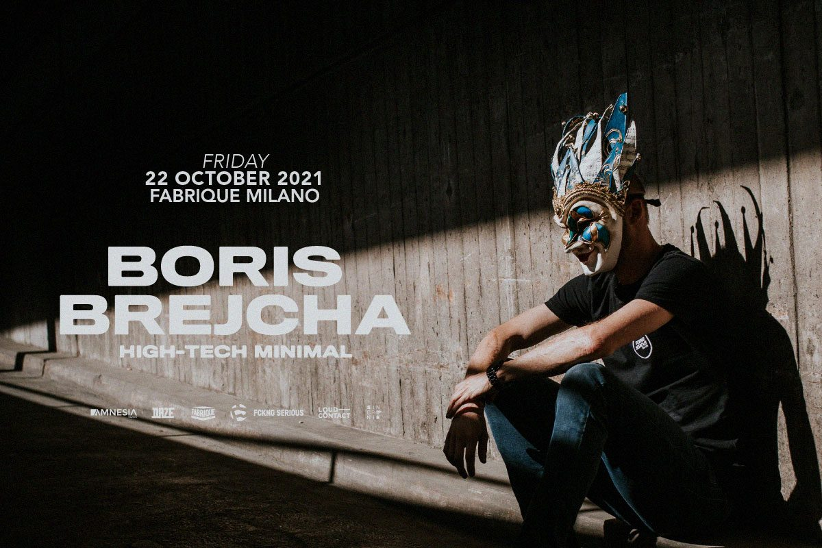 Boris Brejcha special guest al Fabrique di Milano