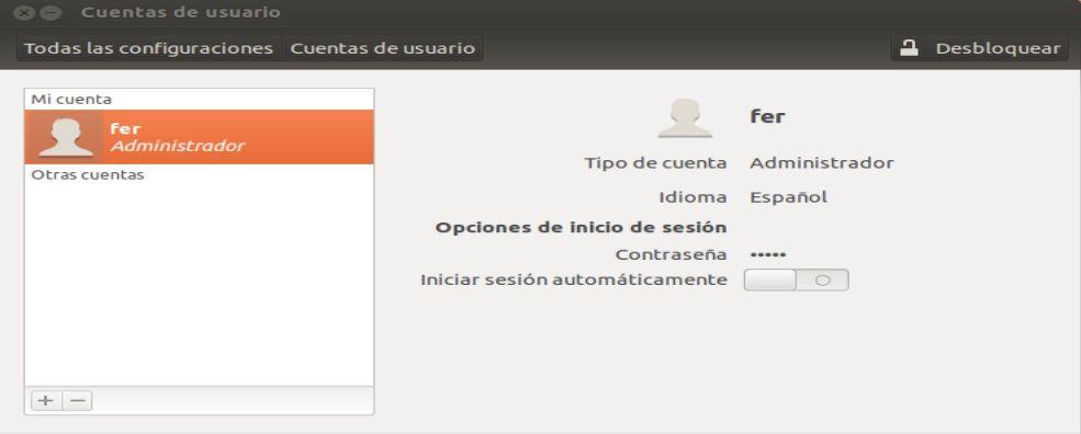 ubuntu 12.04 TLS usuario