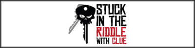 Stuck In The Riddle With Clue Logo